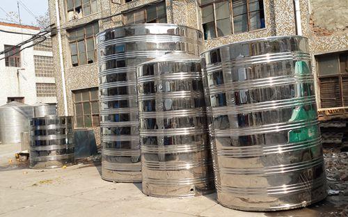 圆柱形冷水箱